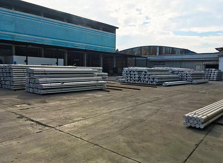 Profilés d'extrusion en aluminium billette