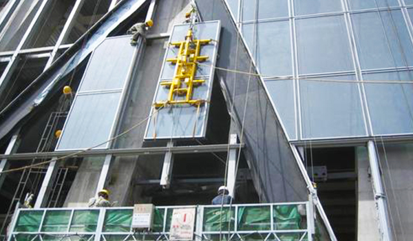 Profilés en aluminium pour mur-rideau Unit